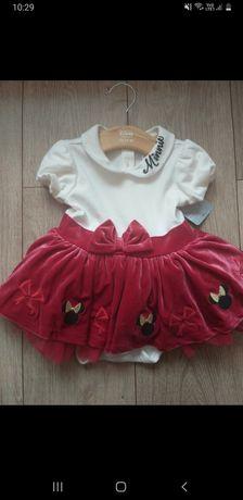 Nowa sukienka Disney Minnie 86