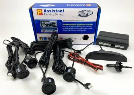 Парктронік Assistant Parking Sensor Black 4903 на 4 датчика для авто