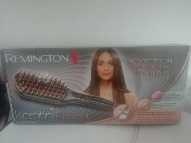 Szczotka Remingtona do prostowania włosów.