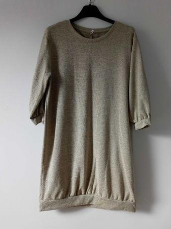 Sukienka sweterkowa bluza VRS S/M