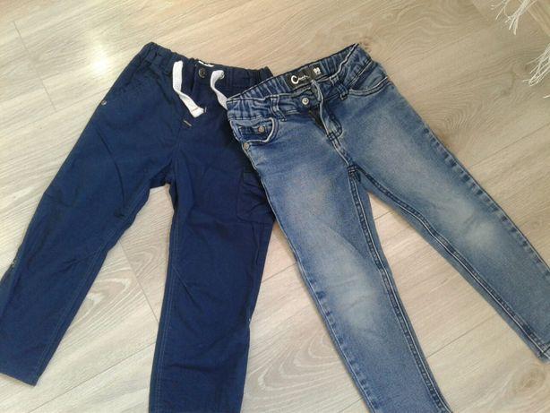 spodnie 2 szt 98