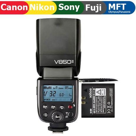 Мануальная вспышка Godox V850II для Canon, Nikon, Sony и других
