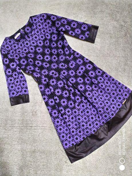 Нарядное платье. Платьице цветочный принт