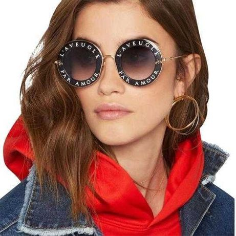 GUCCI GG0113S - okulary- oprawki- przeciwsłoneczne