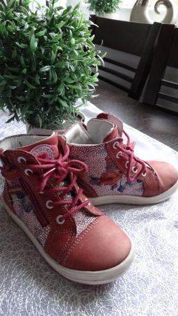 Półbuty, trzewiki Lasocki Kids różowe 26