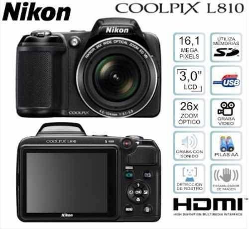 Aparat cyfrowy Nikon coolpix L810
