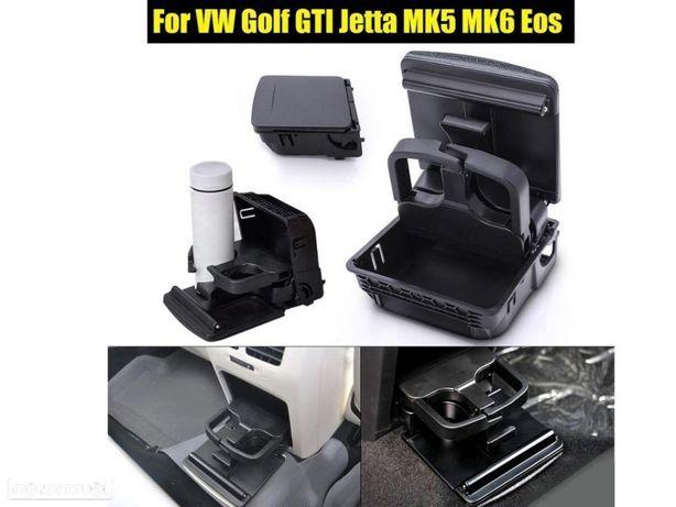 Suporte Porta Copos para Vw Golf V e VI, Jetta V e EOS NOVO