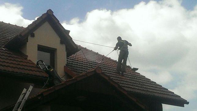 Mycie, Malowanie Dachów, Czyszczenie Dachówki- Bochnia, cała małopolsk