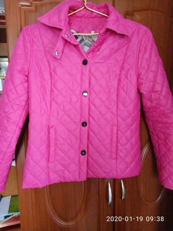 Куртка курточка розовая