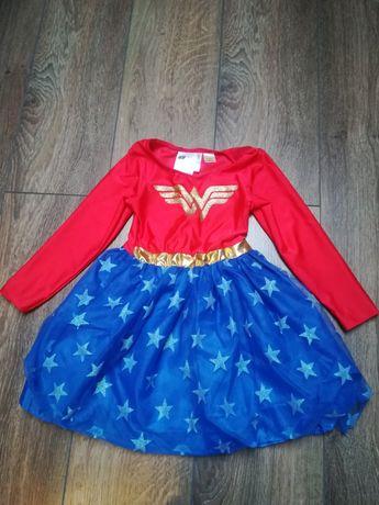 Kostium Wonder Women 98 - 104 jak nowy