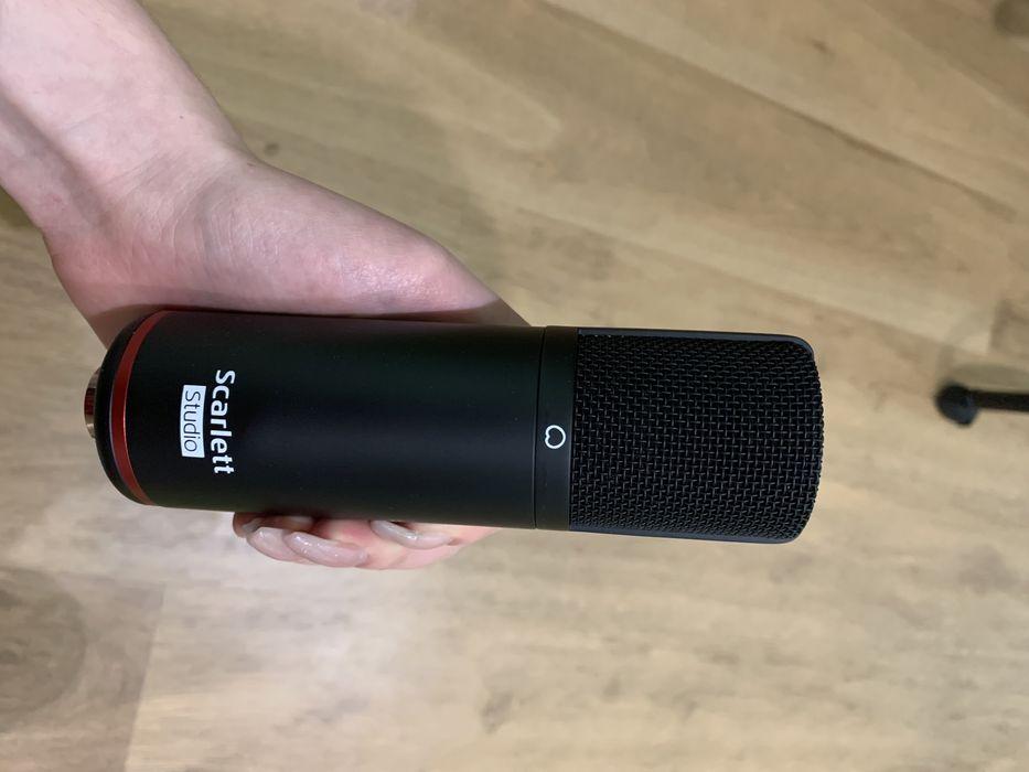 Микрофон конденсаторный Scarlett studio Житомир - изображение 1