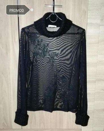 Bluzeczka bluzka golf mgiełka S/M 36/38 Promod