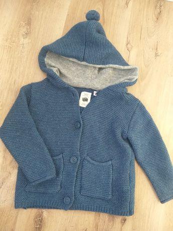 Sweterek z pomponem Zara