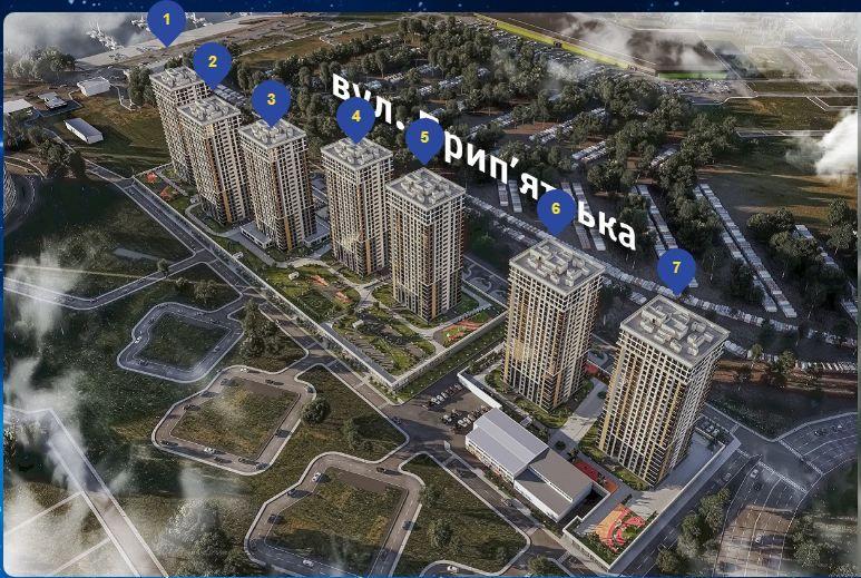 !! ЖК Урловский-1 . Позняки. Дом 3. 1 к. кв. 44 м вашей мечты! Киев - изображение 1