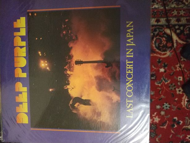 Deep Purple ‎– Last Concert In Japan Japan 1-st press Nm/Nm