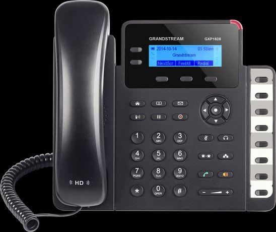Telefon IP Grandstream GXP 1628 HD VoIP do biura jak nowy komplet