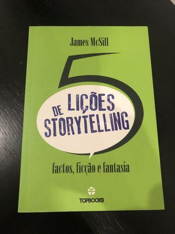 5 Lições de Storytelling: Fatos, Ficção e Fantasia de James McSill