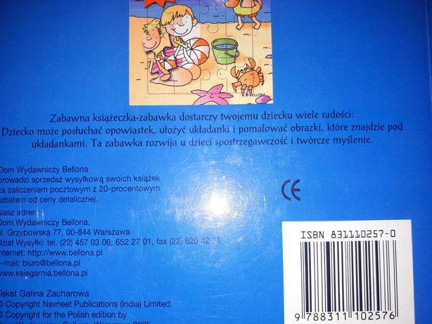 Ksiazeczka,puzle,kolorowanka 3 w 1