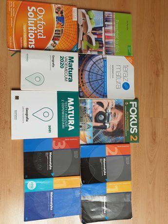 podręczniki, zbiory zadań i repetytoria do klasy maturalnej