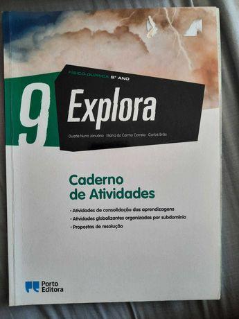 """""""Explora"""" Livro de Atividades de Físico-Química - 9º ano"""