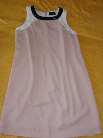 Sukienka pudrowy róż Mohito r.40