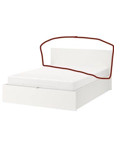 Wezgłowie łóżko MALM IKEA