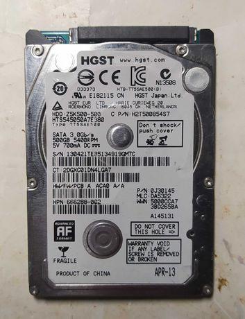 "Жесткий диск на 500Гб для нетбука 2.5"" Hitachi (HGST) Z5K500"