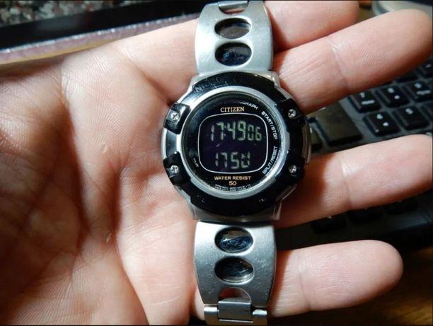 Очень редкие часы Citizen Mens' Digital Sport Watch D298-S63553 KA
