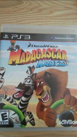 Ps3 gra Madagascar kartz