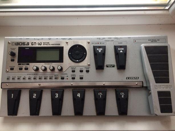 Продам гитарный процессор/ Продається гітарний процесор Boss GT-10