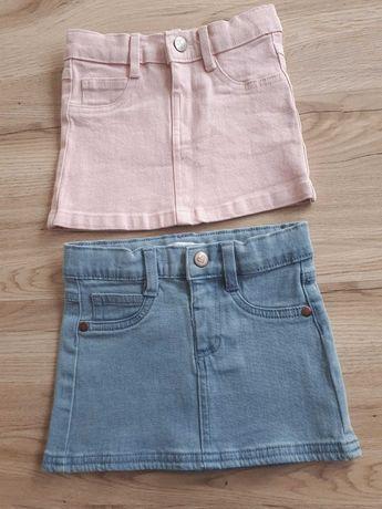 Nowe spódniczki jeansowe Sinsay roz. 98