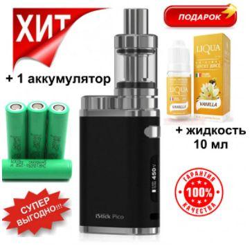 Вейп Pico 75w +Жижа +Аккум. Электронная сигарета пико 75 ват Киев