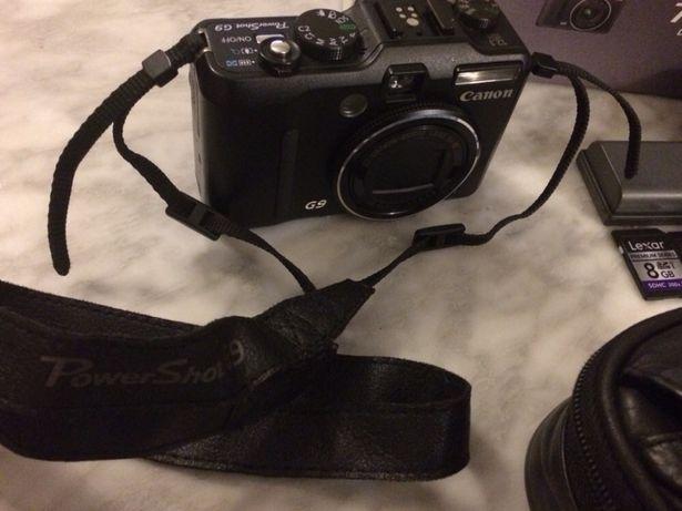 Fotográfica Canon Power Shot G9 com pouco uso