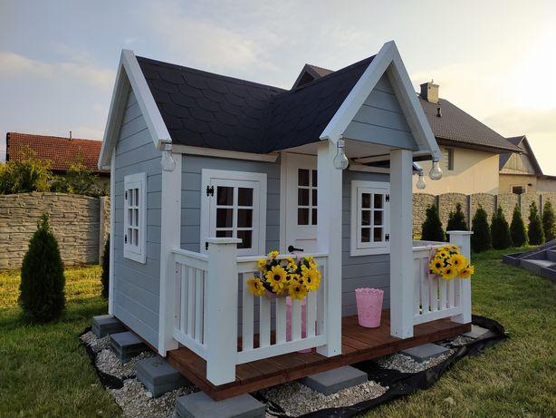 Wyjątkowy, niepowtarzalny domek dla dzieci, drewniany domek ogrodowy