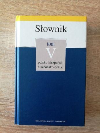 Słownik polsko-hiszpański hiszpańsko-polski
