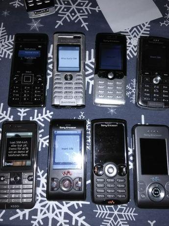 Zestaw telefonów Sony Ericsson