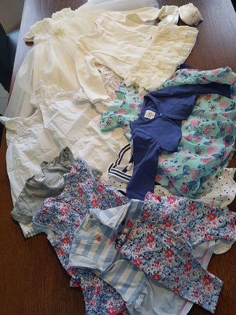 Sukienki 9 sztuk, H&M, coccodrillo, Mayoral, Cool Club