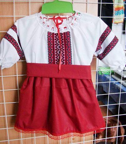 Плаття-вишиванка на 0,6-2 роки