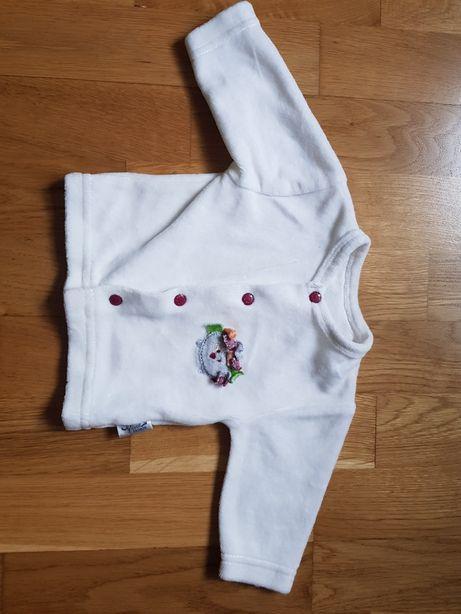 Bolerko bluza niemowlę noworodek 50 56