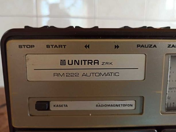 Radiomagnetofon Unitra RM 222 ZRK