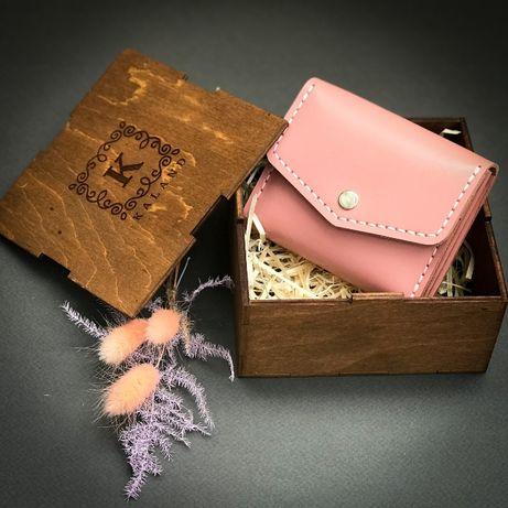 Маленький жіночий шкіряний гаманець / женский кожаный кошелек