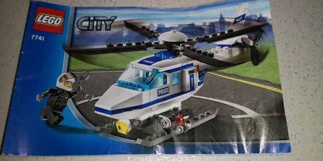 Lego city 7741 helikopter policyjny