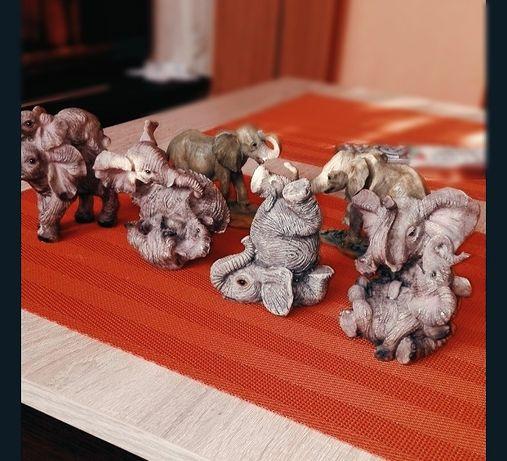 Słonie figurki dekoracje