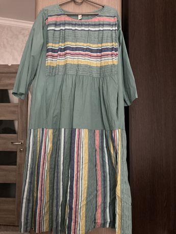 Натуральне трендове стильне плаття