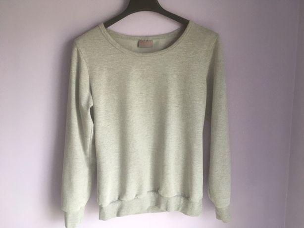 Bluza damska szara, wiosenna, elastyczna, fajna, rozmiar S / 36