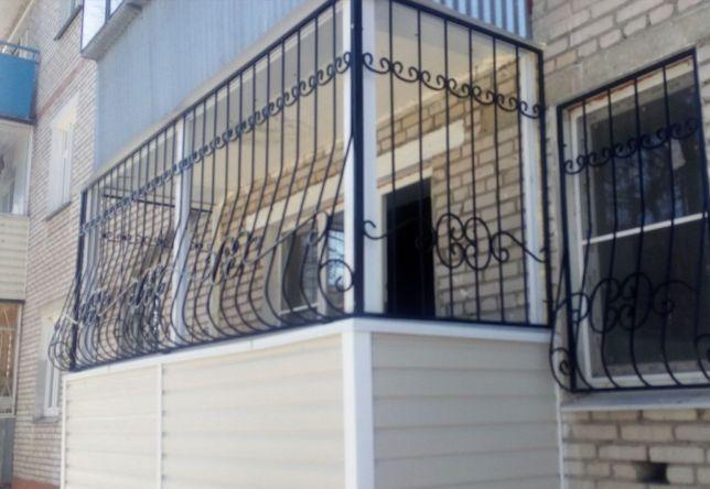 Решетки на окна, лоджии, балконы