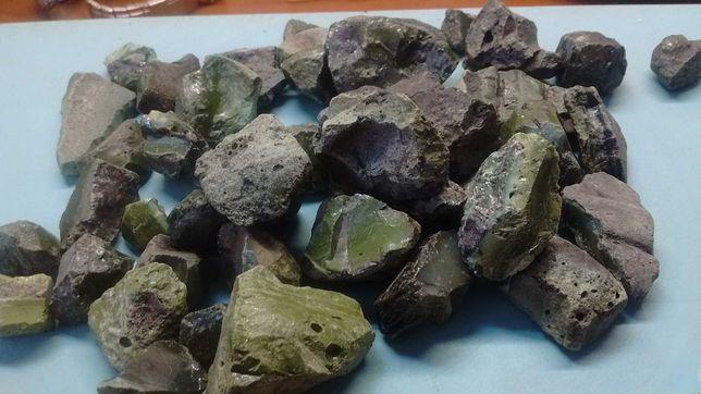 Зеленые камни.Уникальные артефакты