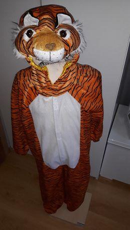NOWY strój karnawałowy TYGRYS LEW PANTERA LWA kostium 116/128 (166)