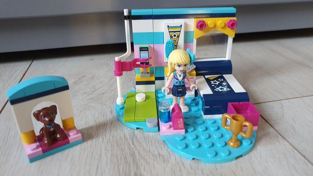 Klocki LEGO friends Stephanie i jej sypialnia 41328