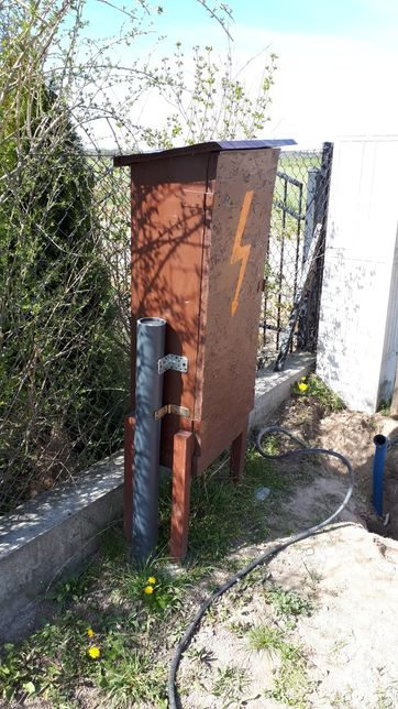 Skrzynka prądowa - budowlana na prąd